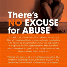 No excuse for abuse