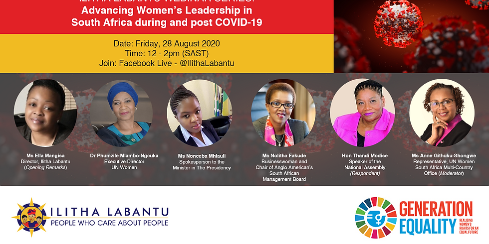 Advancing Women's Leadership in South Africa during and post COVID-19