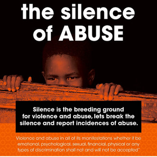 Break the silence of abuse