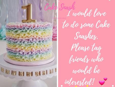Cake Smashes