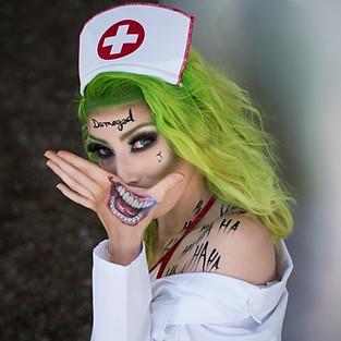 Female Joker with Monroenix