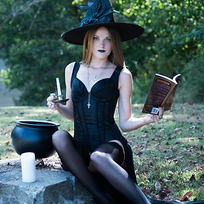 Witch Portraits with Desiray Davis