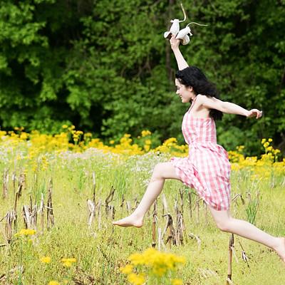 Flower Fields & Mary Jane