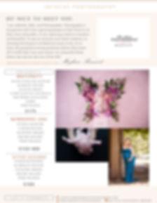 infocusphotographyflyer-maternitynewborn