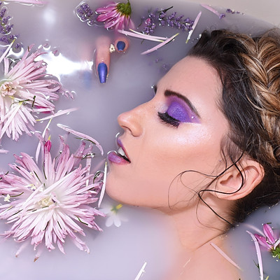 Purple Glam with Megan Preston