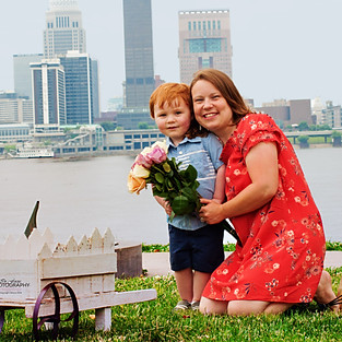 Lacy's Mommy and Me Session