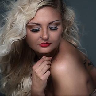 Kayla Implied Vogue shoot