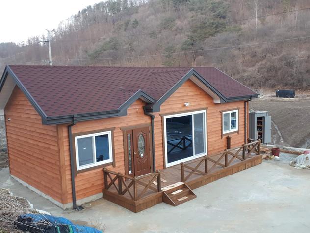 금산군 역평리 20평 조립식주택