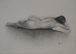 Figure in Lying Pose