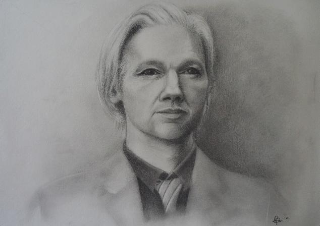 Study - Julian Assange