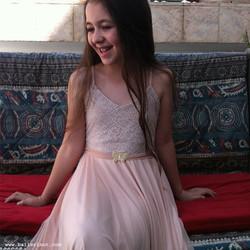שמלת בת מצווה בלרינה פודרה