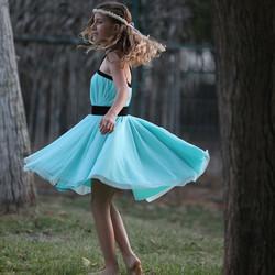שמלת בת מצווה קולר טורקיז