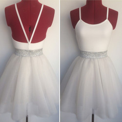 שמלת טוטו כסופה קצרה בגזרת בלרינה