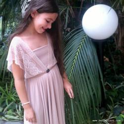 שמלת בת מצווה נסיכה פודרה