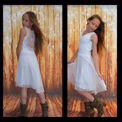 שמלת בת מצווה לבנה ונוס