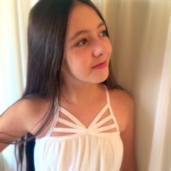 שמלת בת מצווה לבנה פרפר