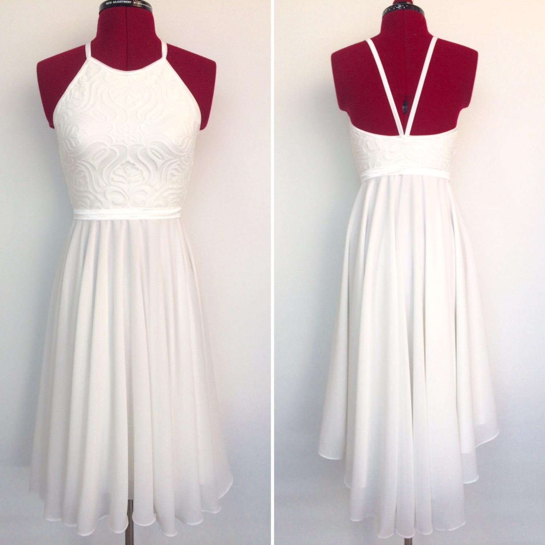 שמלת בת מצווה קולר עם שובל