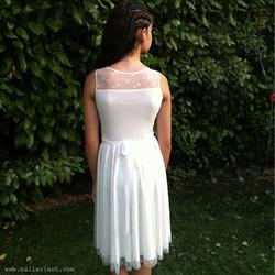 שמלת בת מצווה לב