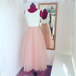 שמלת בת מצווה מפוארת ארוכה