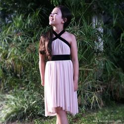 שמלת בת מצווה קולר פודרה