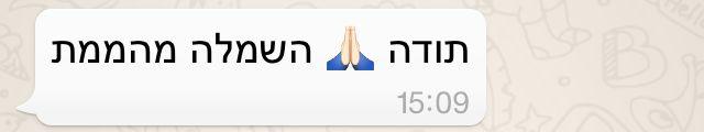 המלצה של שרית אמא של נועה