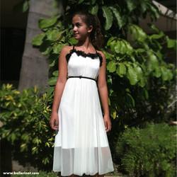 שמלת בת מצווה פרחים