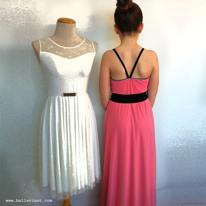 שמלת בת מצווה בלרינה מקסי