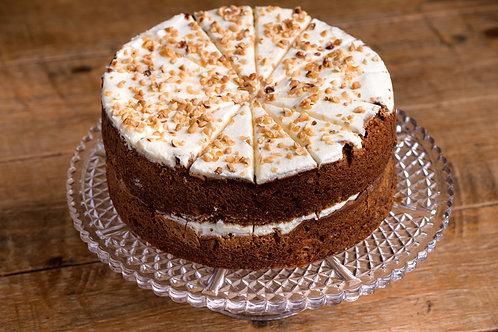 GF Carrot cake slice