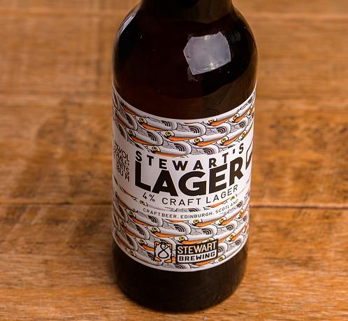 Stewart brewing lager