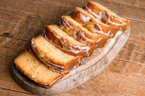Lemon Drizzle Cake - slice