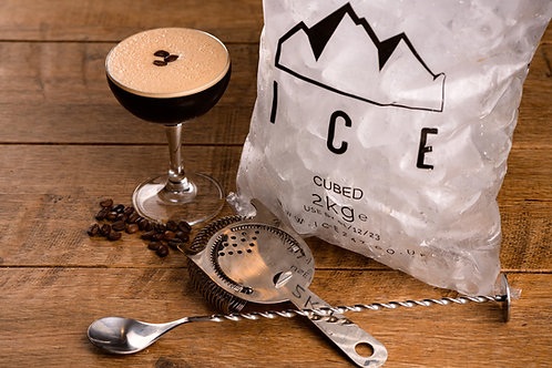 Espresso Martini (Dbl) with ice - cocktail delivery