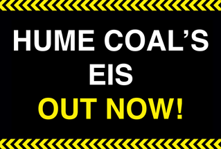 Hume Coal's EIS out now!