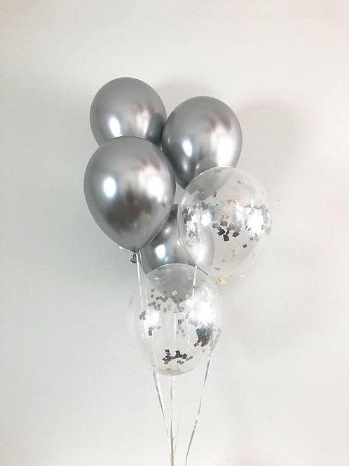 Bouquet de ballons (6 pièces)