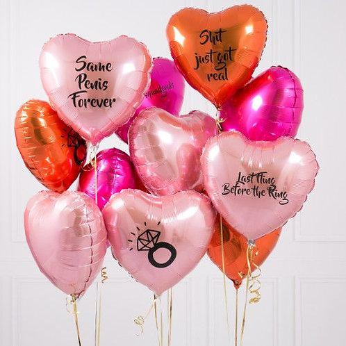 Ballons foil