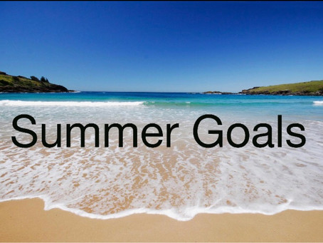 Summer wellbeing goals!