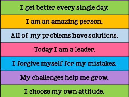 Start the day with a Positive Affirmation ☘️