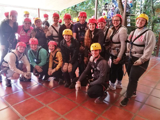 Will you dare to go on a ziplining adventure?
