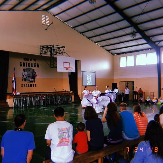 Annexation of Guanacaste celebration in our school gym!