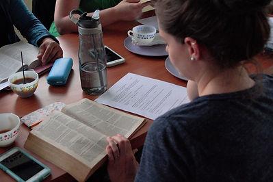 Tori reading bible.jpg