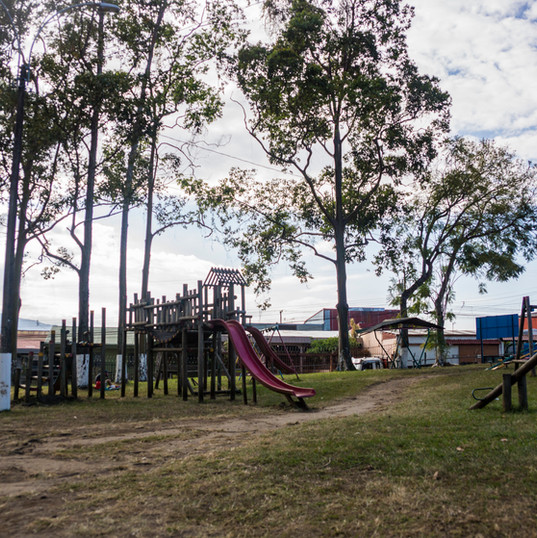 Polideportivo is also a popular park near the school. There's even a fruit and vegetable market on Saturday's!