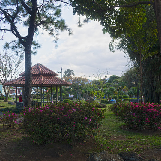 Parque Okayama is also a popular park in our neighborhood featuring a sweet little playground for all ages.