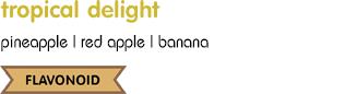 juicedr tropical delight pineapple banana smoothie juice bangkok น้ำสับปะรด กล้วยปั่น น้ำผลไม้ปั่น เพื่อสุขภาพ