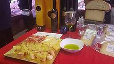 degustaciones de aceites de oliva y maridajes con jamón