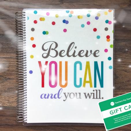 Win an Erin Condren Planner + TpT Gift Card!