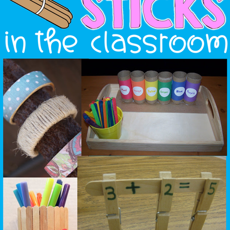 50 Ways to Use Popsicle Sticks in the Classroom