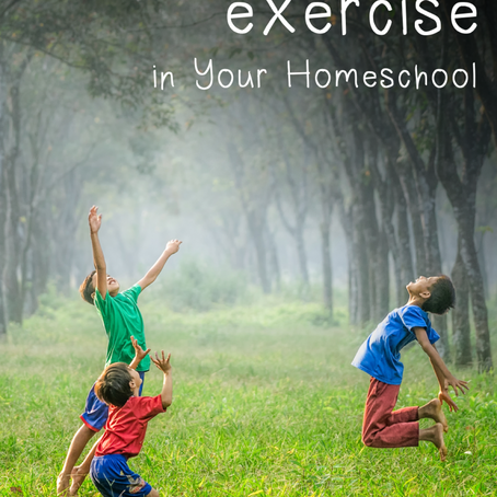 20 Ways to Include Exercise in Your Homeschool