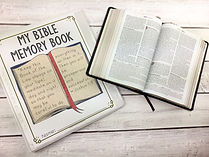 Bible Memory Book Cover