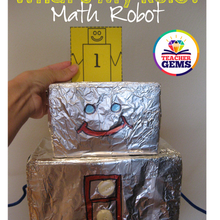 What's my Rule? Math Robot