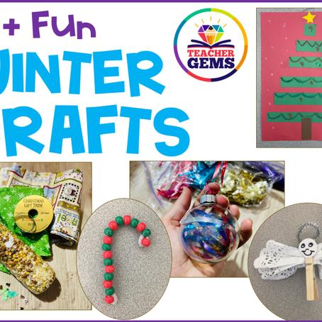 15+ Winter Crafts
