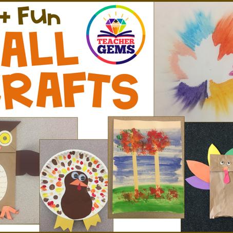 15+ Fun Fall Crafts